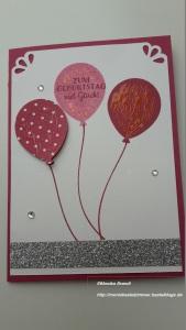 Geburtstagskarte Luftballon